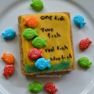 One fish two fish red fish blue fish Snack by SweetSimpleStuff