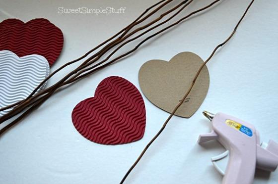Paper Heart Flower by SweetSimpleStuff