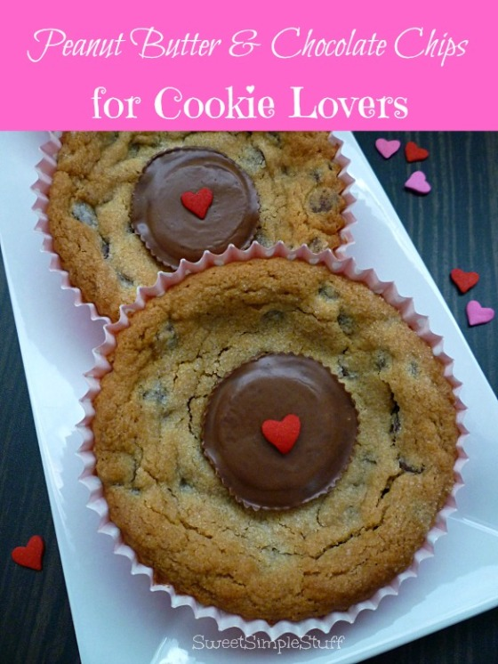 Peanut Butter & Chocolate Chips for Cookie Lovers - SweetSimpleStuff