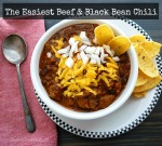The Easiest Beef & Black Bean Chili by SweetSimpleStuff