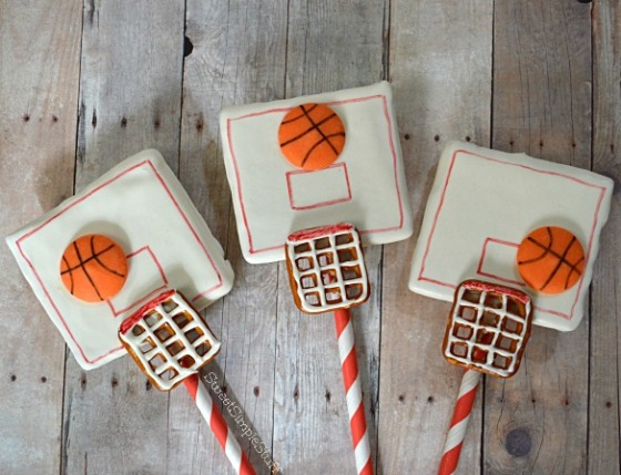 Basketball Basket Pops by SweetSimpleStuff