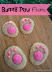 Bunny Paw Cookies by SweetSimpleStuff