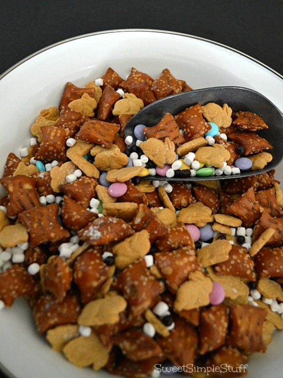 Bunny Tail and Trail Mix - SweetSimpleStuff