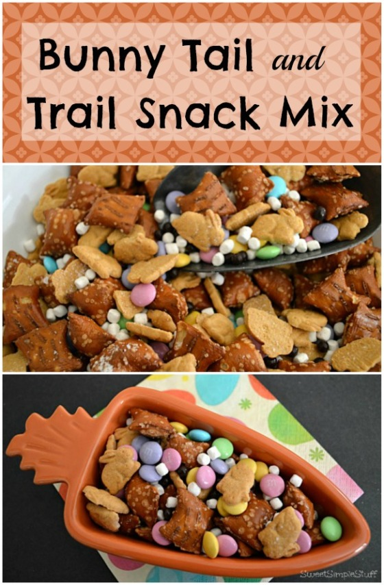 Bunny Tail and Trail Snack Mix by SweetSimpleStuff