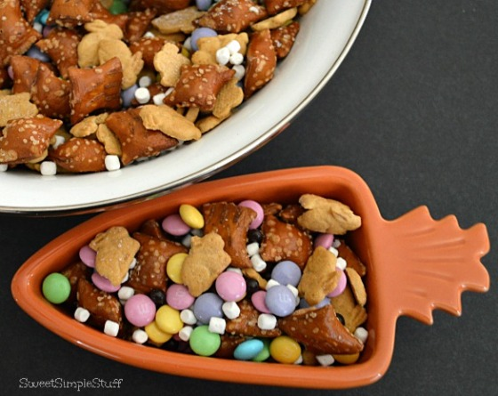 Bunny Tails and Trail Mix by SweetSimpleStuff