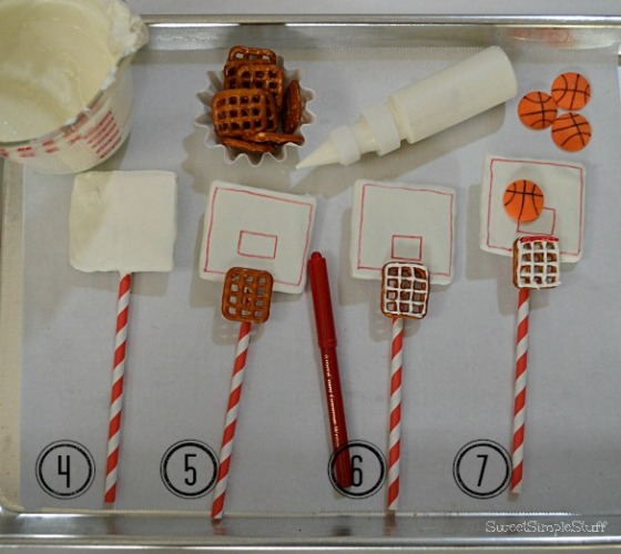 Cookie Basketball Post by SweetSimpleStuff