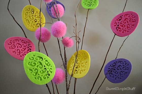 Easter Egg Decorations by SweetSimpleStuff
