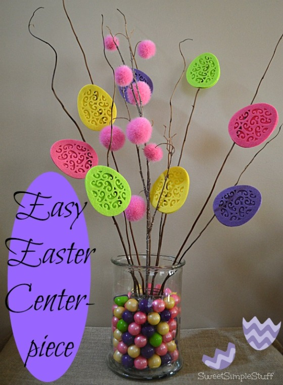 Easy Easter Centerpiece by SweetSimpleStuff