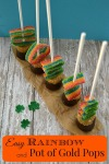 EasyRainbow and Pot of Gold Pops by SweetSimpleStuff