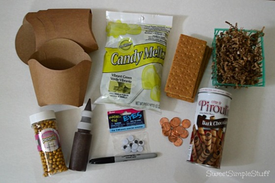 French Fry Box Leprechaun Supplies by SweetSimpleStuff