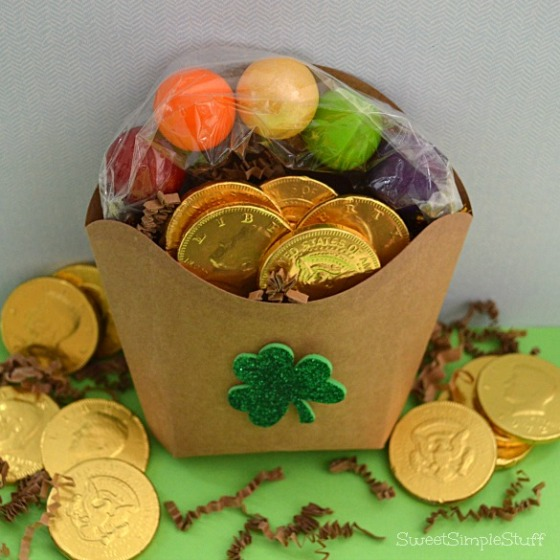 St. Patrick's Day French Fry Box by SweetSimpleStuff