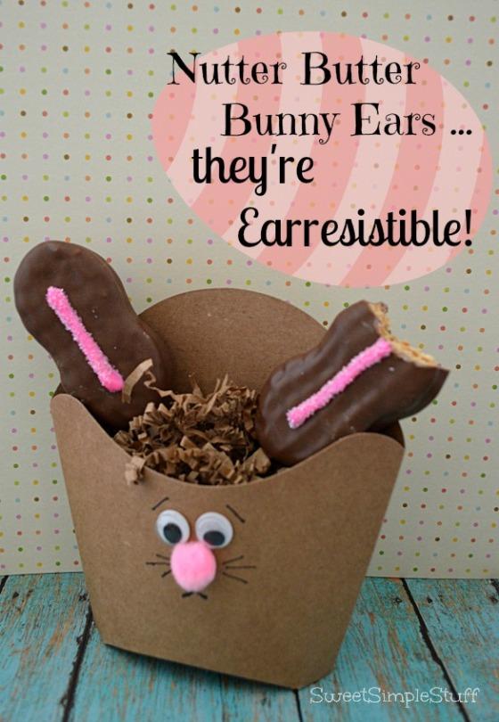 Nutter Butter Bunny Ears ... they're Earresistible by SweetSimpleStuff