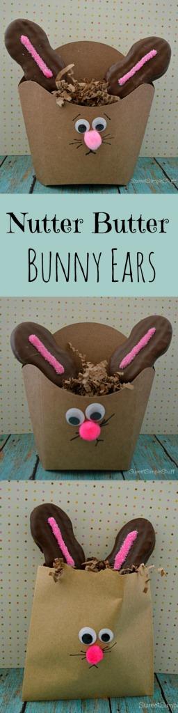 Nutter Butter Easter Bunny Ears by SweetSimpleStuff