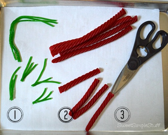 Twizzler Carrot Tops by SweetSimpleStuff