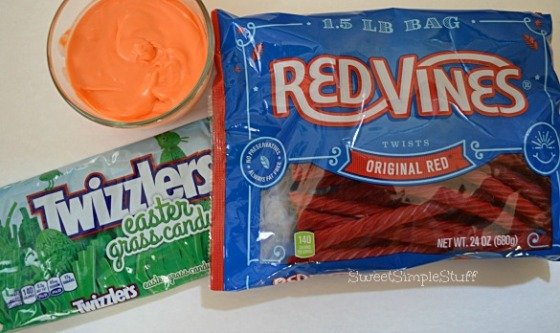 Twizzlers Red Vines Carrots by SweetSimpleStuff
